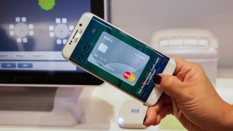 Samsung Pay on tv