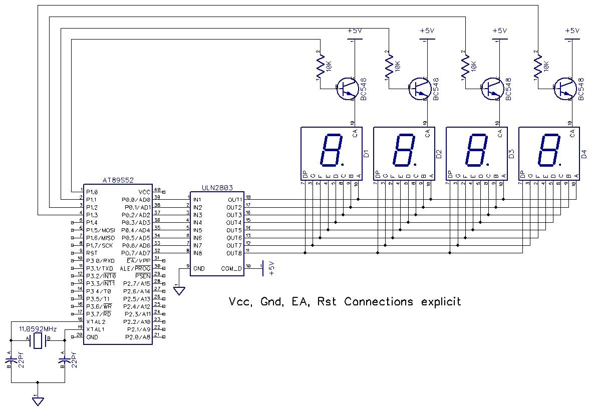 7 Segment 16 Bcd Decoder Bit