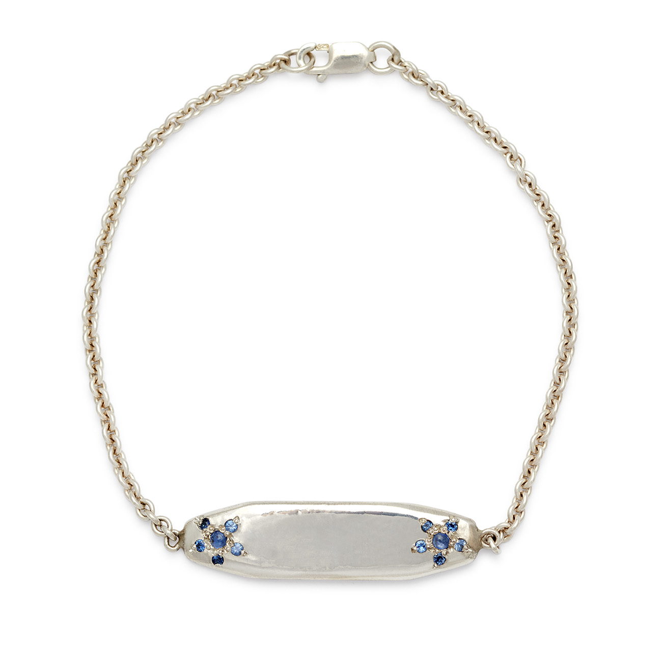 sterling silver id bracelet elisa solomon jewelry
