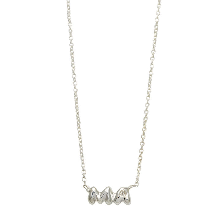 Elisa Solomon - Sterling Silver Ma Necklace