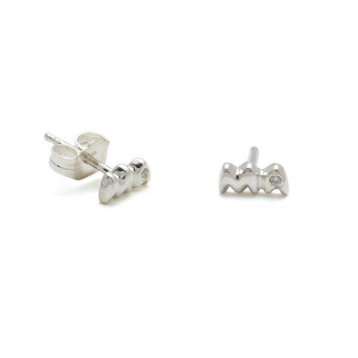 Sterling Silver Mama Studs Elisa Solomon Jewelry