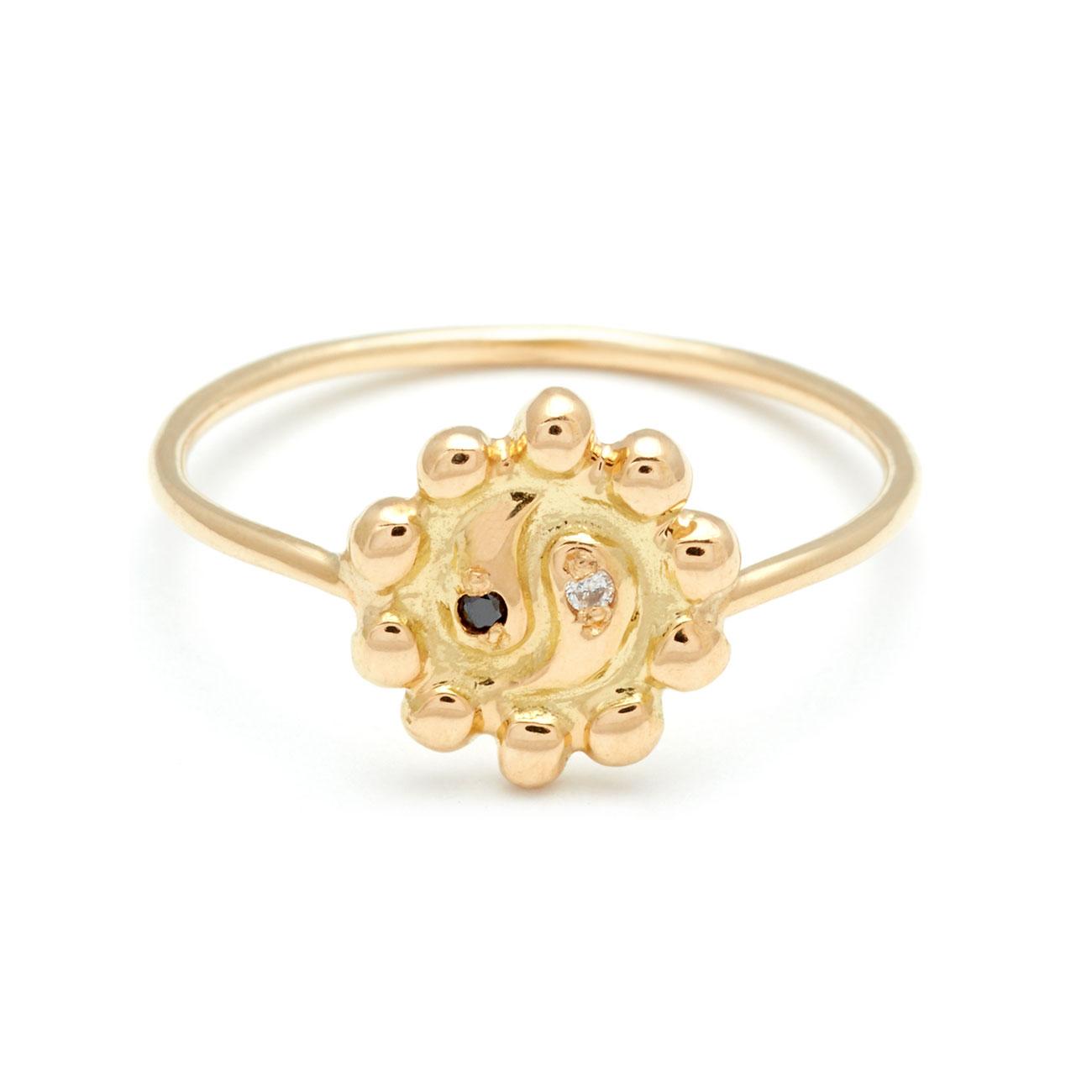 Ying yang flower ring elisa solomon jewelry mightylinksfo