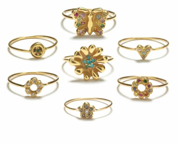 Symbolic Stacker Rings - Elisa Solomon Jewelry