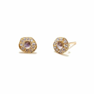yellow-gold-moonstone-diamond-disk-studs