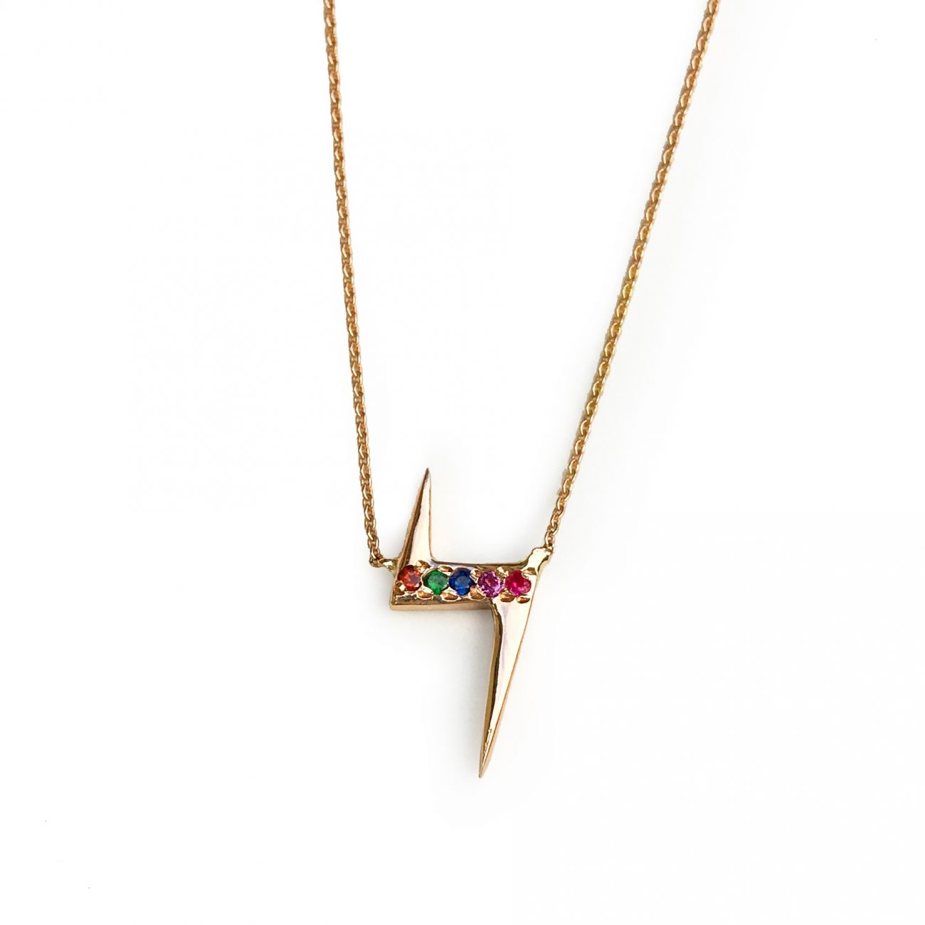 lightening-bolt-necklace-yellow-gold