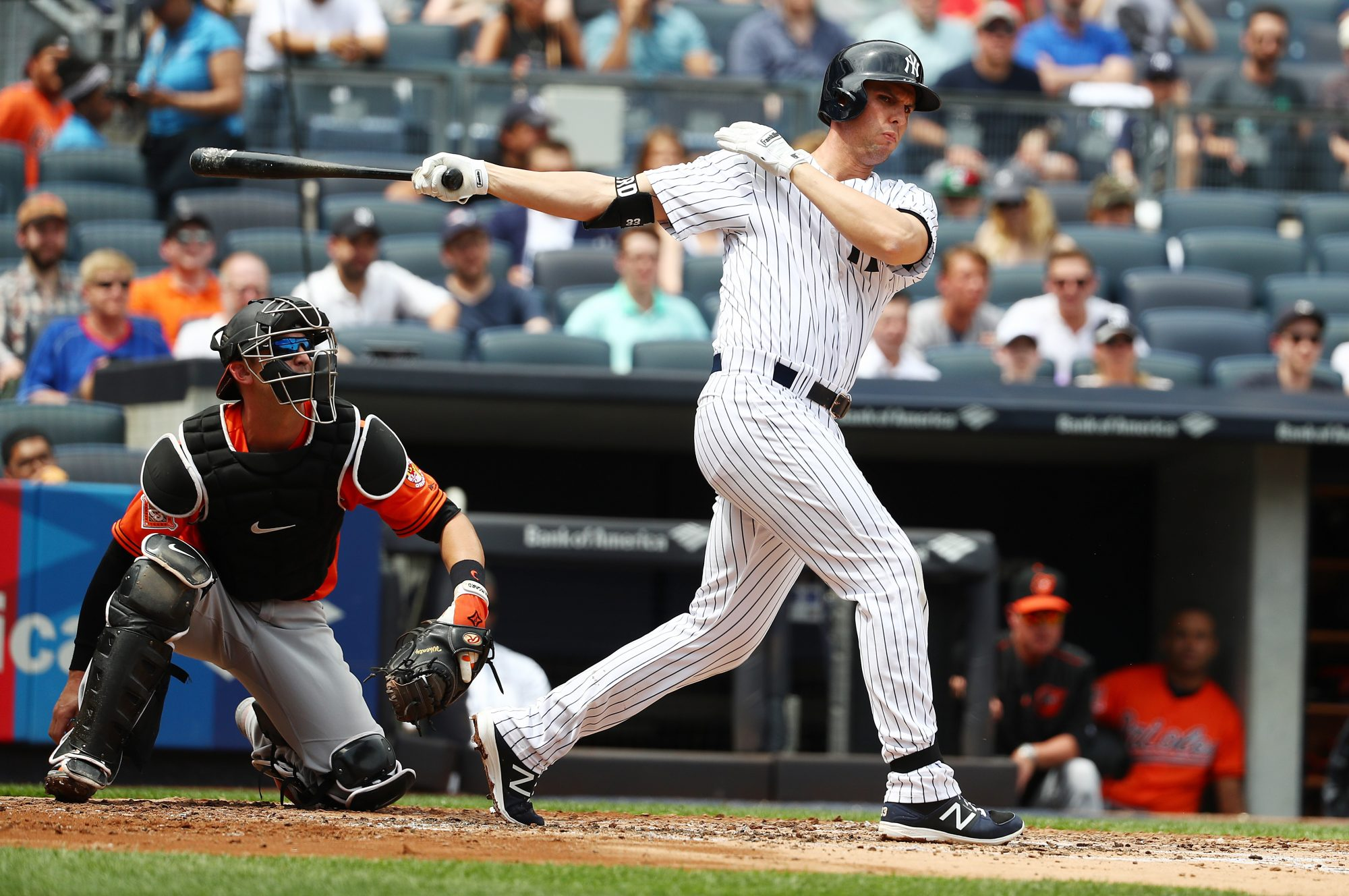 New York Yankees: Despite Recent Numbers, Greg Bird Looks ...