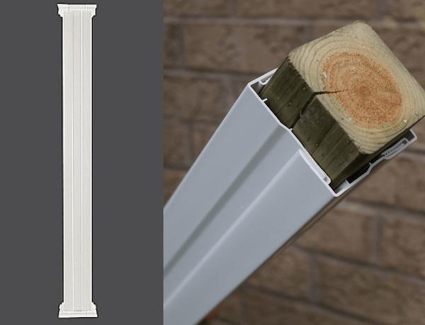 Porch Vinyl Wraps Column