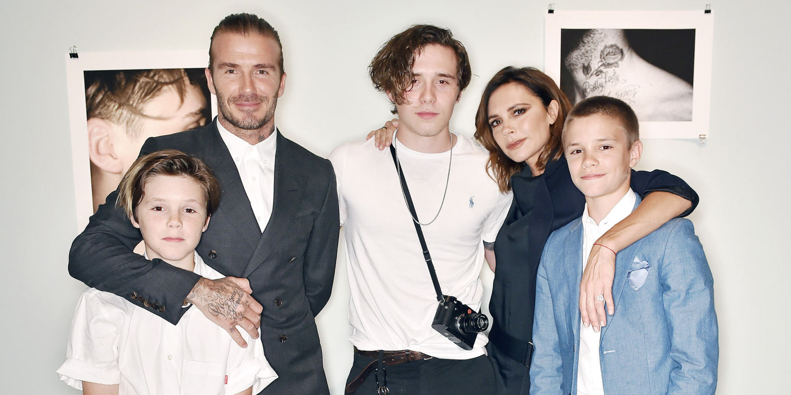 Beckham Family Burst With Pride To Celebrate Brooklyn's ...