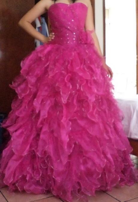 Vestidos Morado Xv Color De En