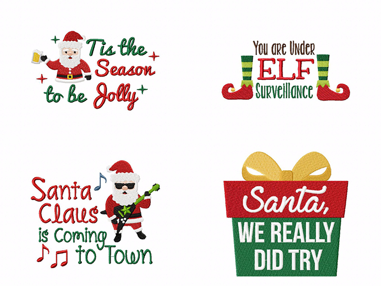 Santa, We Really Tried! 16 Cute & Funny Quotes Machine ...
