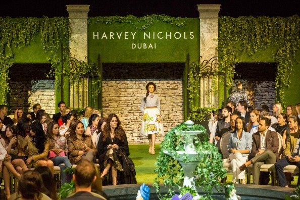 Harvey Nichols Dubai Secret Garden Show Exclusive Video