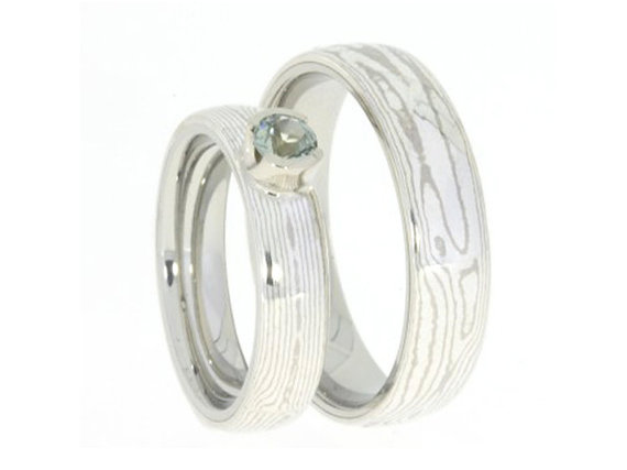 28 Unique Matching Wedding Bands His Amp Hers Styles Couples Rings