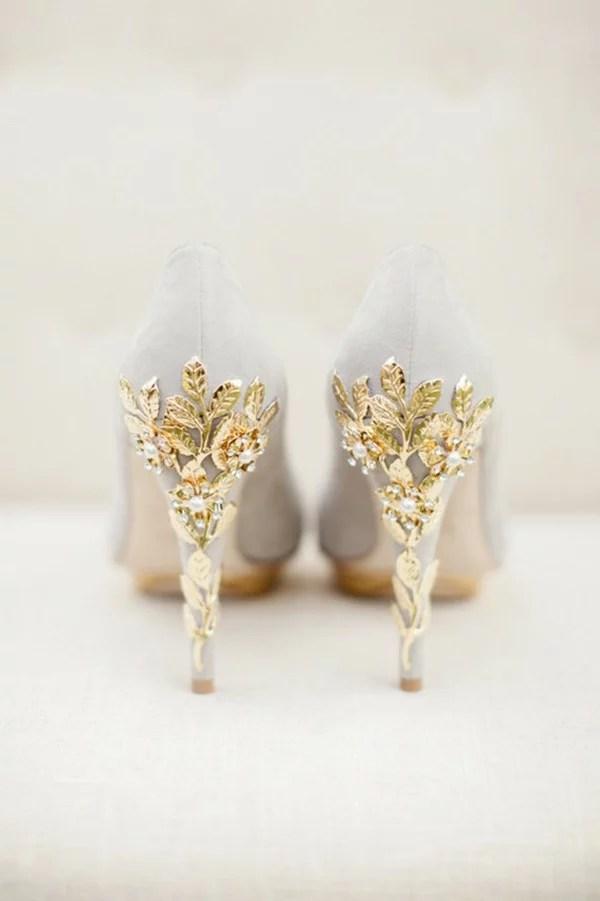 Blush Wedding Shoes Low Heel