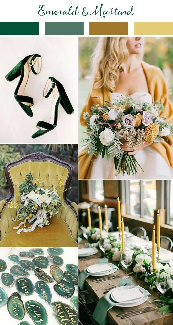 Fall Wedding Colors Yellow