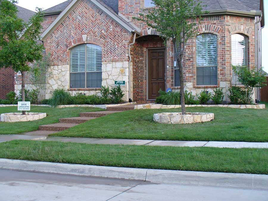 Landscape Design Front House
