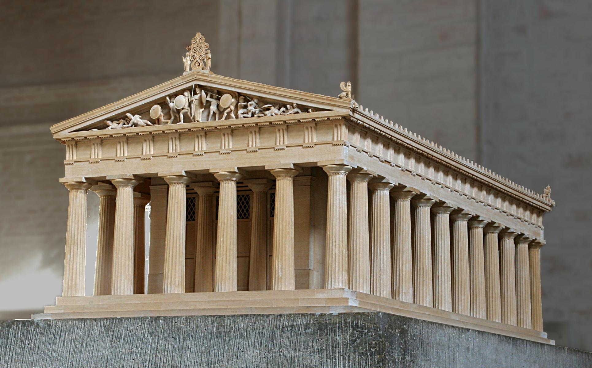 Best Kitchen Gallery: Early Greek Architecture of Greek Architecture  on rachelxblog.com