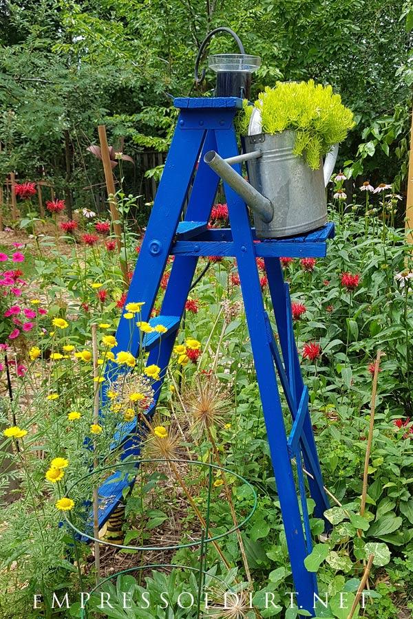 Garden Art Ladders Idea Gallery Empress Of Dirt