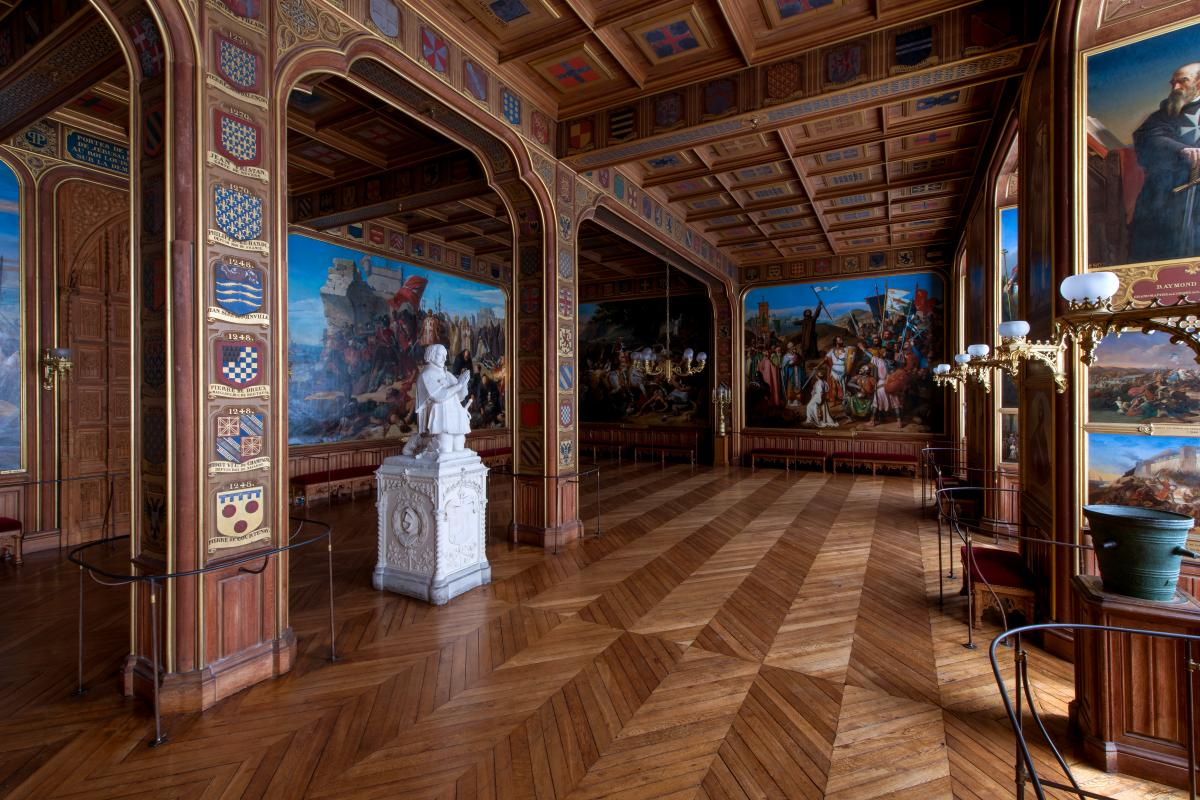 The Crusades Rooms Palace Of Versailles
