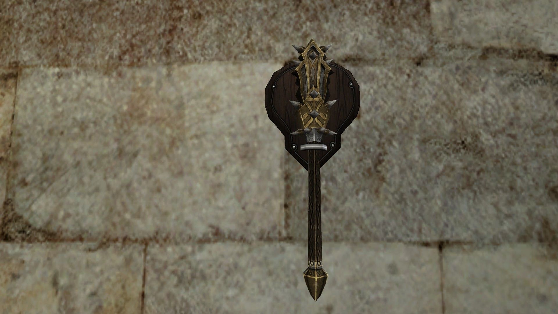 Wall-Mounted Mace of Minas Ithil