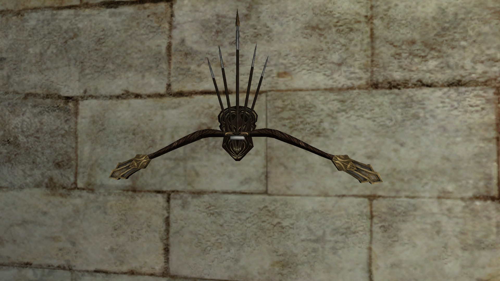Wall-Mounted Bow of Minas Ithil