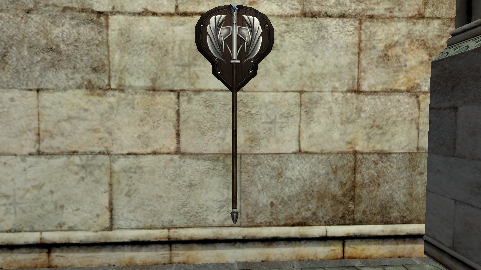Wall-Mounted Great Axe of the Remmorchant