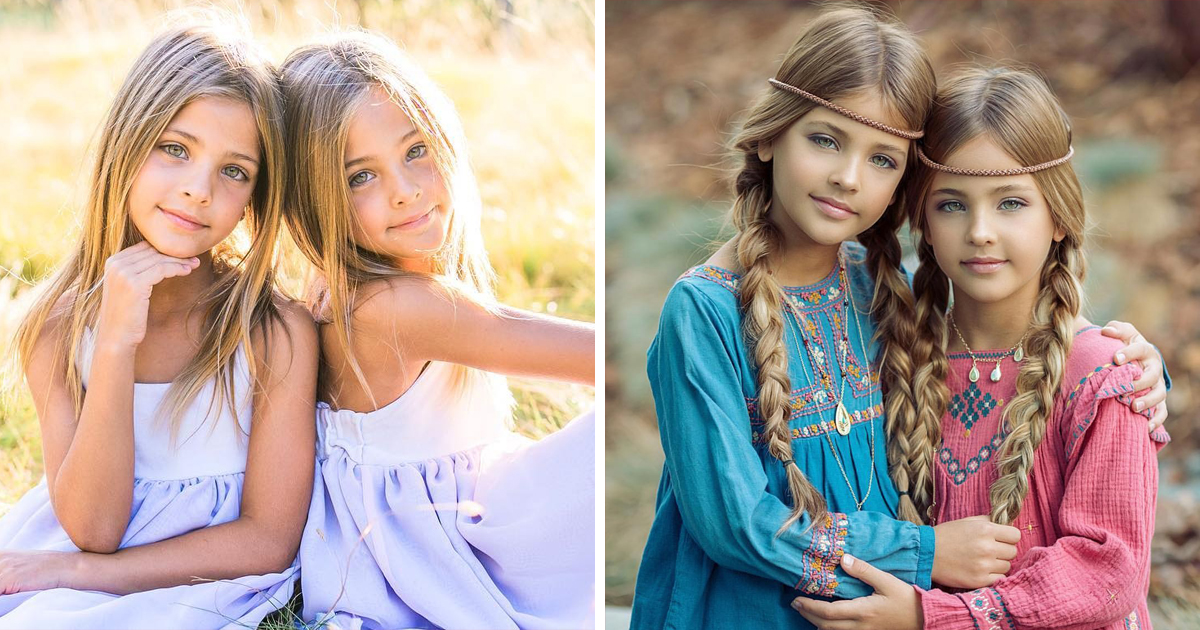 Meet 8yo Leah Rose and Ava Marie, the most beautiful twins ...