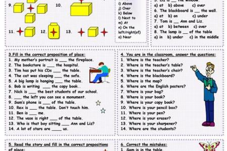 Prepositions Of Place Esl 4k Pictures 4k Pictures Full Hq