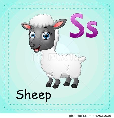 Image of: Squirrel Animals Alphabet Is For Sheep Bored Panda Animals Alphabet Is For Sheep Stock Illustration 42083086 Pixta