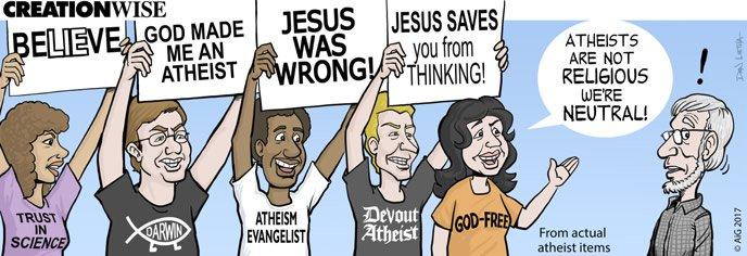 Atheists Vs Christians Jail
