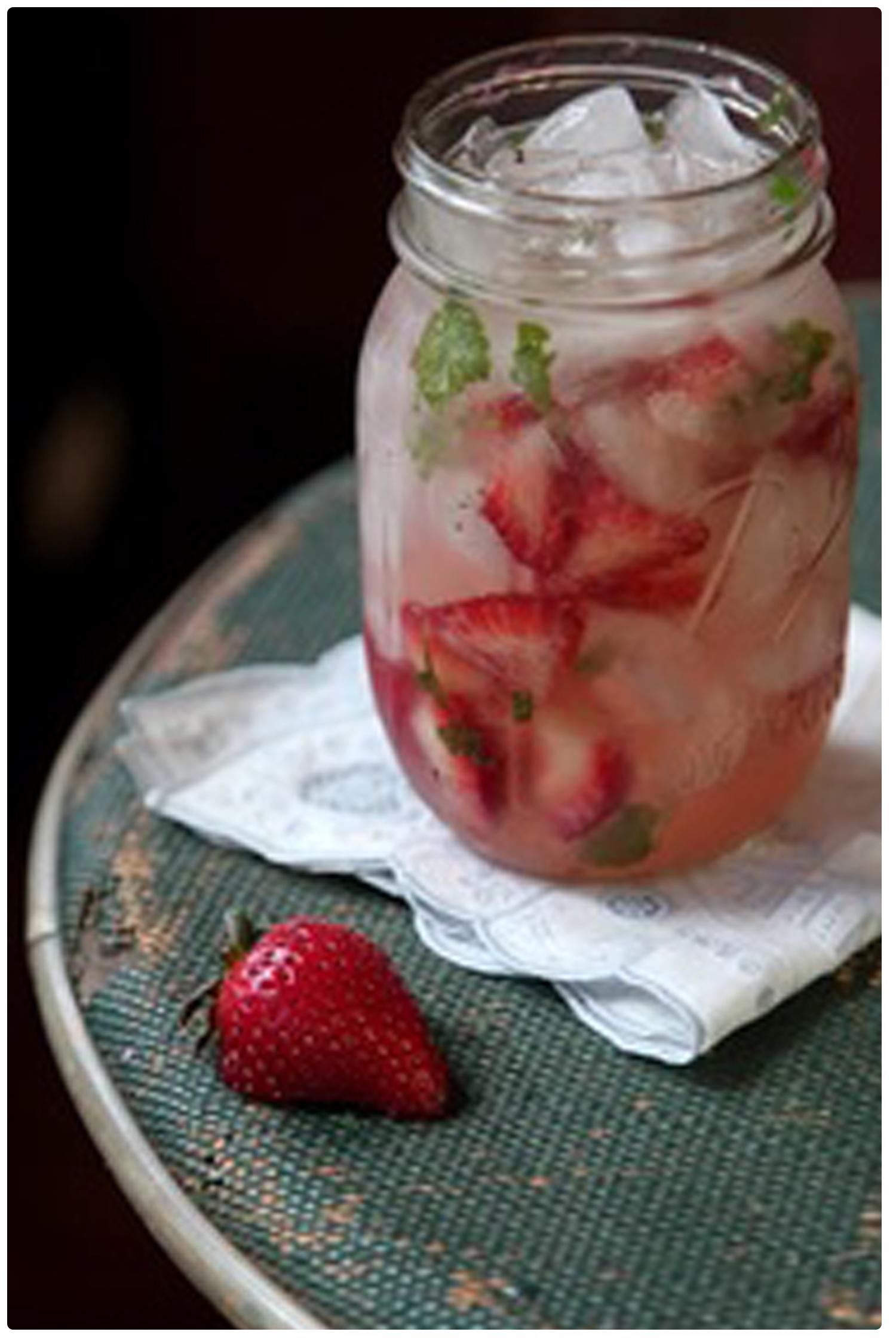 Strawberry Margarita Jar