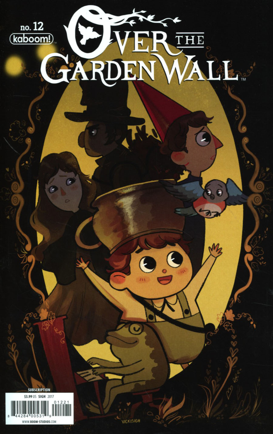 Over the Garden Wall #12 Variant | Wow Cool