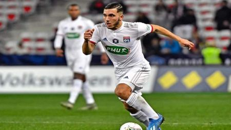 Olympique Lyonnais' Rayan Cherki Becomes Youngest To Play In Champions  League Knockout Round | Football News | Zee News
