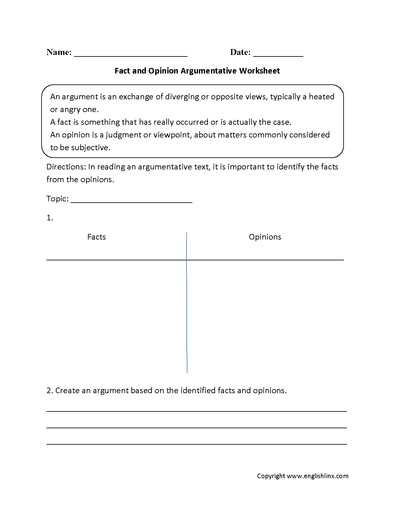 Worksheet Fact Or Opinion Worksheet Carlos Lomas Worksheet For