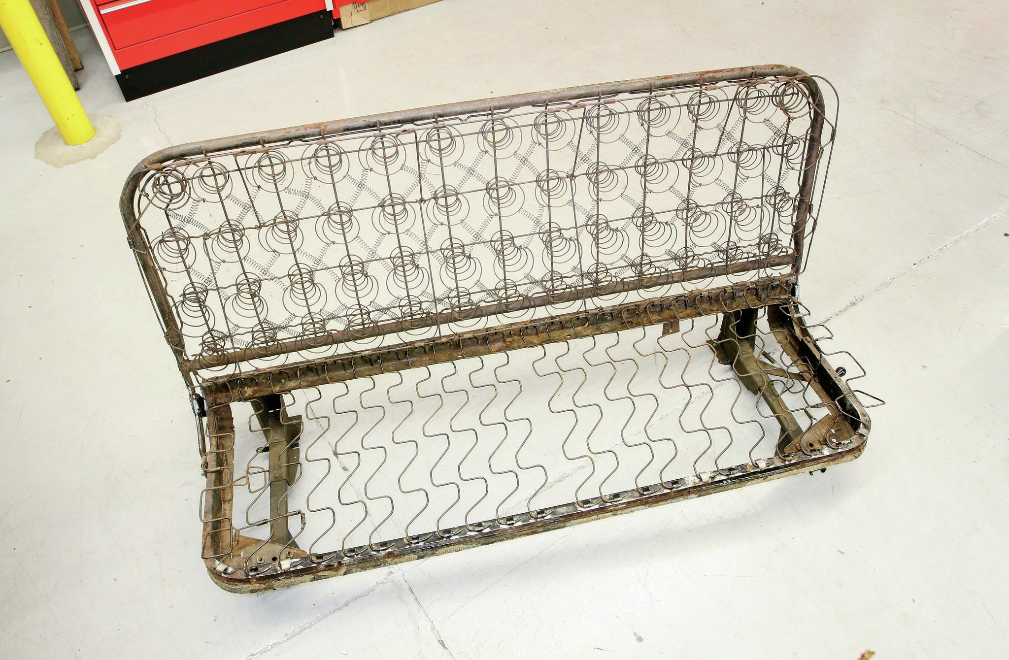 Rebuilding A Stock Bench Seat Part 1 Hot Rod Network