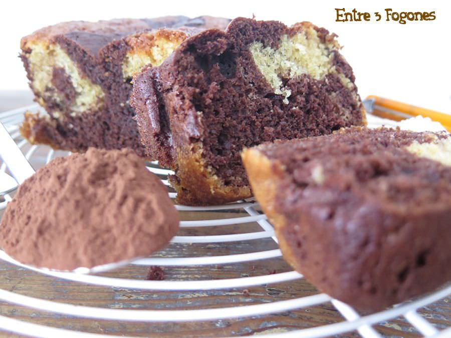 Photo of Cake Marmolado de Chocolate y Vainilla