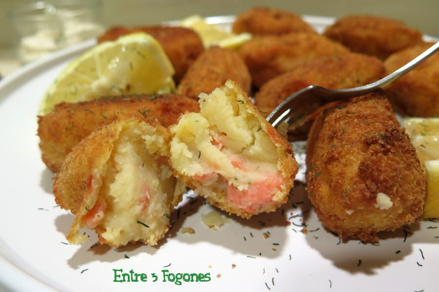 Photo of Croquetas de Patata y Trucha Ahumada