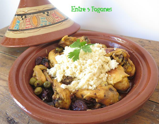 Photo of Tajine de Pollo Ecológico con Ciruelas y Cuscús