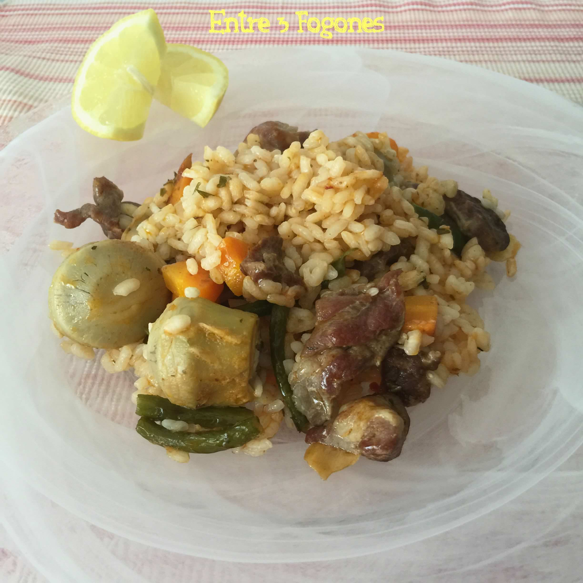 Photo of Arroz Ibérico con Verduras
