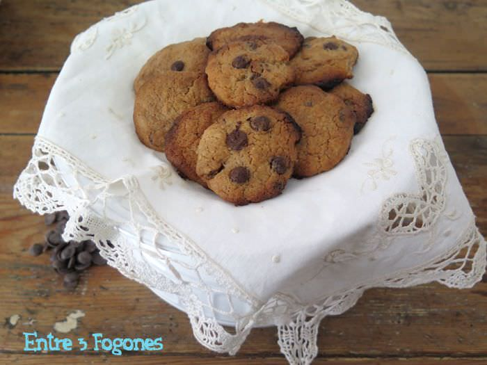 Cookies Pepitas de Chocolate