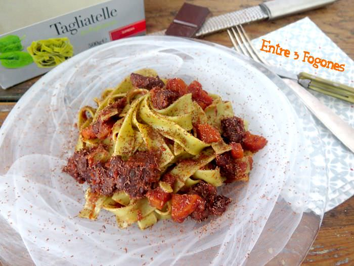 Photo of Tagliatelle de Espinacas con Ternera en Salsa