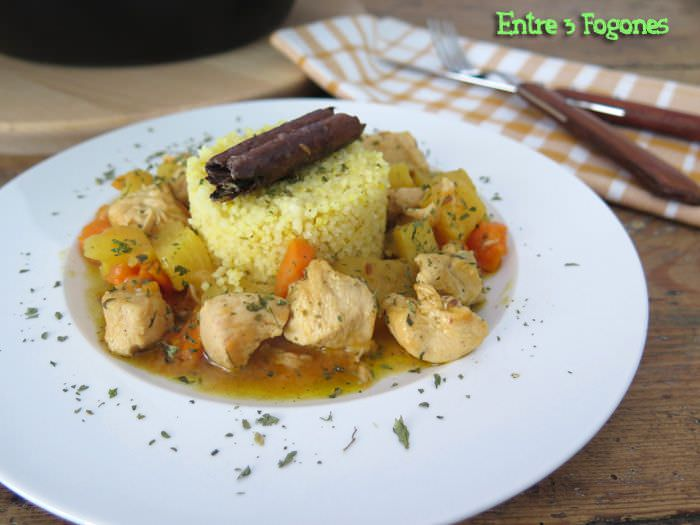 Photo of Tajine de Pollo con Piña y Batata