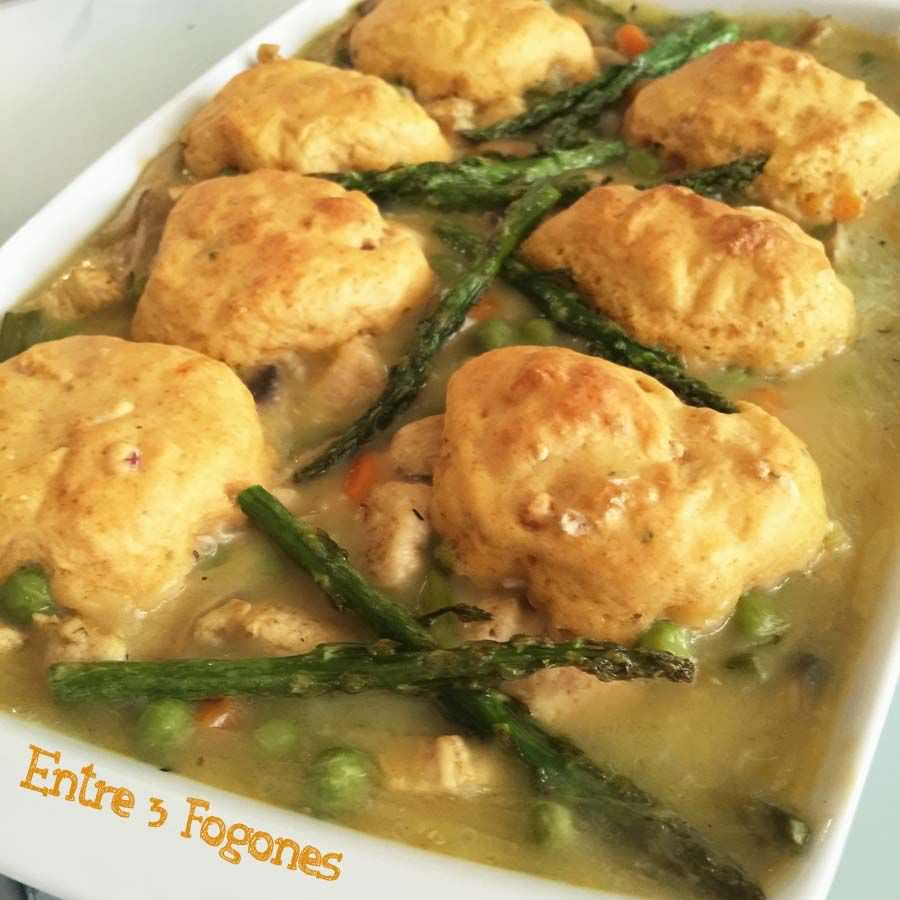 Photo of Dumplings con Pollo y Verduras al Horno