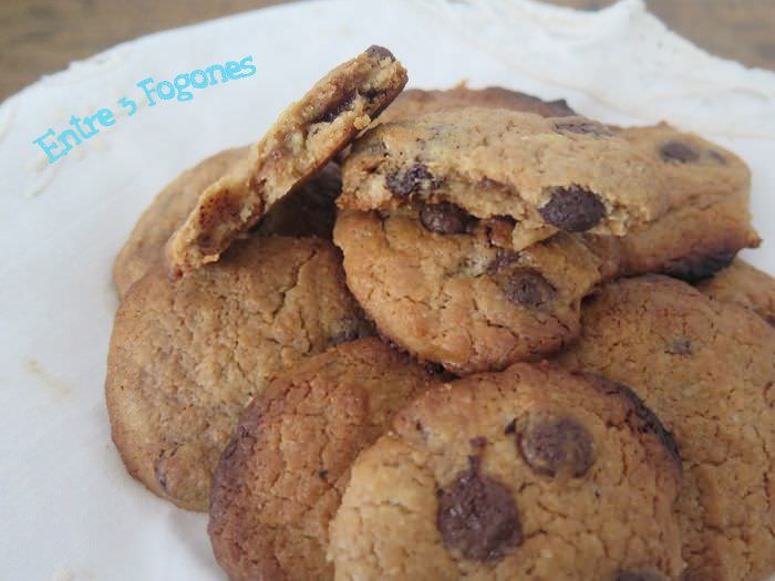 Receta Cookies Pepitas de Chocolate
