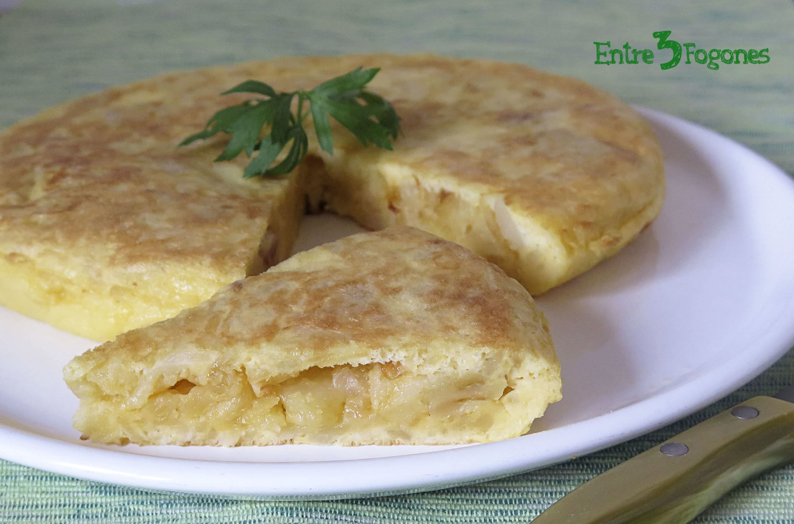 Photo of Tortilla de Patatas con Cebolla