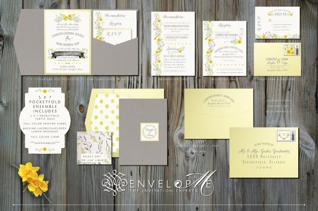 Rustic Wedding Invitations Rsvp Cards