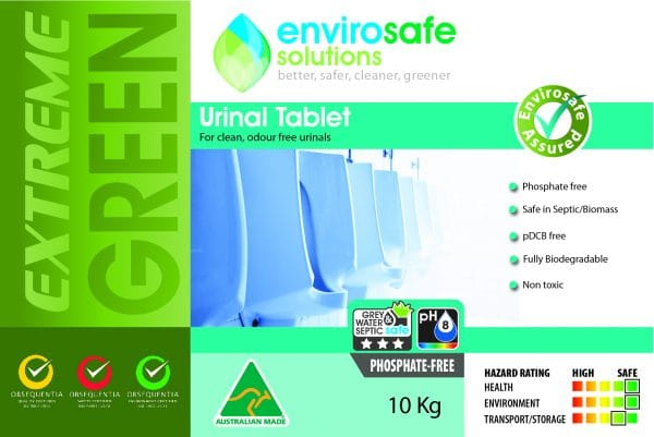 Urinal_Tablet label