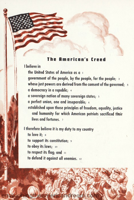 Boy Scout American Creed Swscan07156 Envisioning The