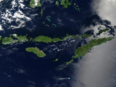NASA Visible Earth: Lesser Sunda Islands, Indonesia