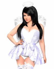 Top Drawer Sweet Angel Sexy 4 PC Costume