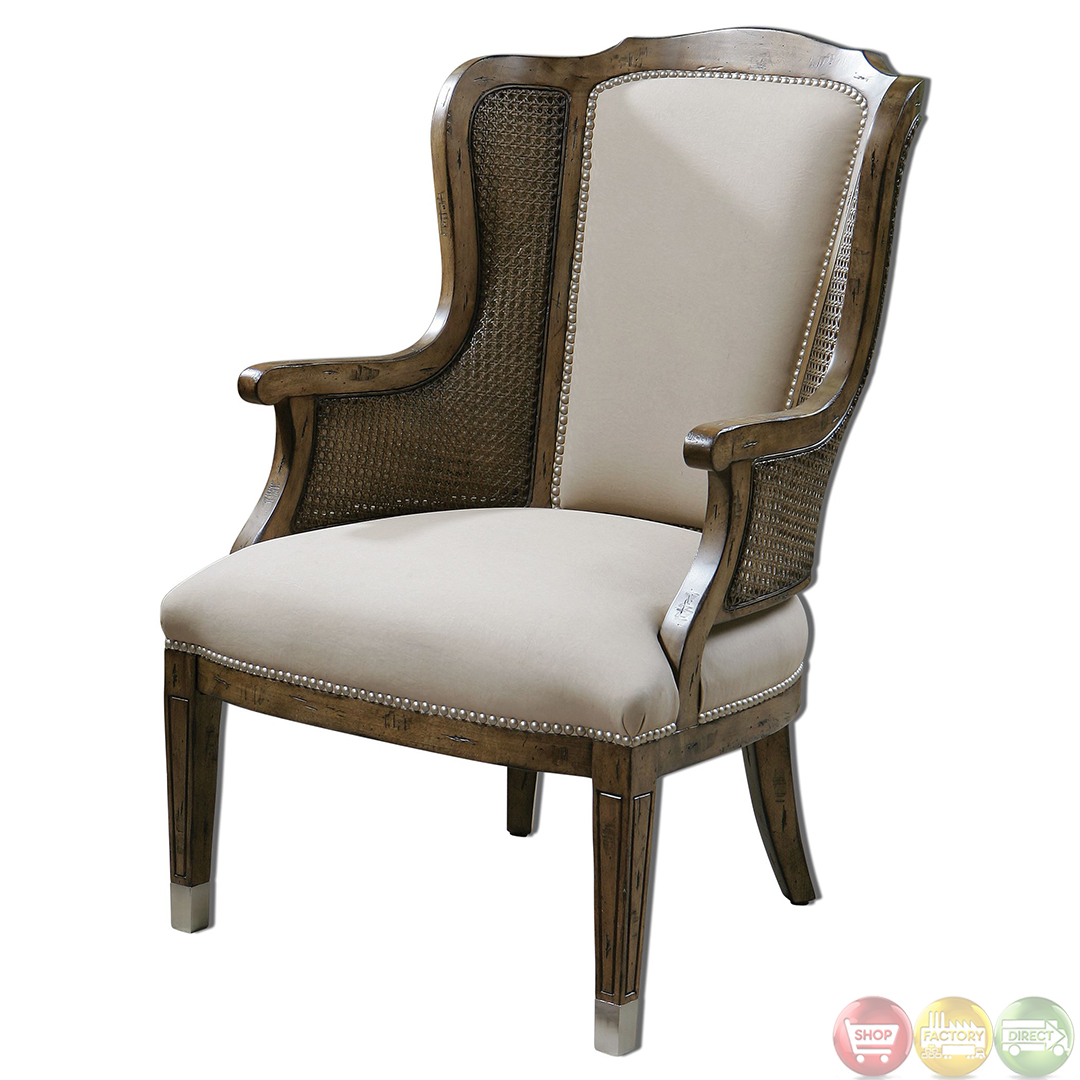 High Back Accent Chairs